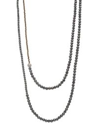 Faystone - Vega Necklace - Lyst