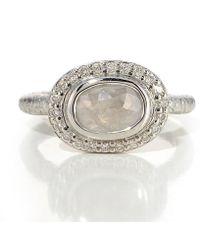 Susan Wheeler Design - Grey Diamond Ring - Lyst