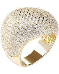 Lustre of London - Yellow Bombay Ring - Lyst