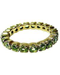 Beryl Dingemans Jewellery - Peridot Eternity Band - Lyst