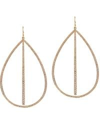 Bridget King Jewelry - Large Stick And Large Diamond Teardrops - Lyst