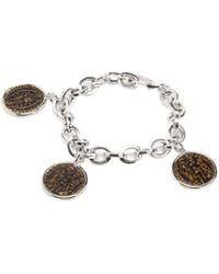 Rina Limor - Sunrise Coin Charm Bracelet - Lyst