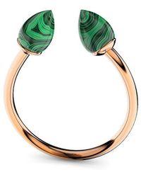 MARCELLO RICCIO - Rose Gold & Malachite Ring - Lyst