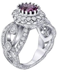 "Dallas Prince Designs - ""bellezza"" Pink Sapphire Ring - Lyst"