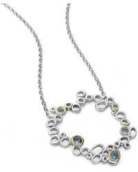Charmian Beaton Designs - Circular Bubbles Pendant - Lyst