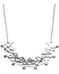 Murkani Jewellery - Frida Silver Necklace - Lyst