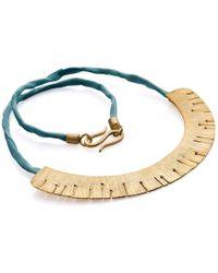 Valentina Falchi Artistic Jewellery - Nymph Semi Circular Necklace - Lyst