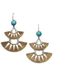 Meltdown Studio Jewelry - Double Juniper Earrings - Lyst