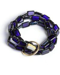 Eva Michele Midnight Moon Bracelet