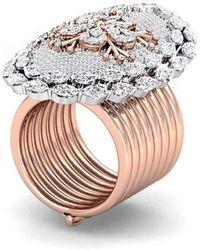 Gunjan Bhandari - Floral Ring Bracelet - Lyst