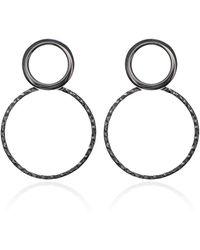 Carao Jewelry - Sterling Silver Duet Earrings - Lyst