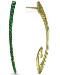 REALM - Sceptre Linea Signature Vert Exclamation Earrings - Lyst