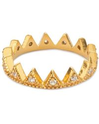 Black Betty Design - Stella's Crown Ring - Lyst