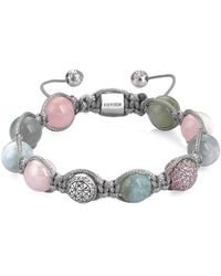 Atolyestone London - Beryl Macrame Bracelet - Lyst