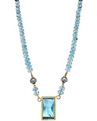 Nicofilimon | Ionian Blue Necklace | Lyst