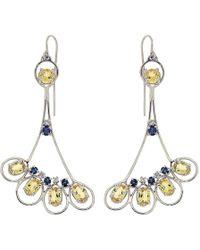 Botta Gioielli - Peacock Earrings - Lyst