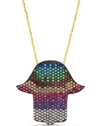 Cosanuova - Multi-colour Hamsa Necklace - Lyst