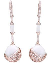 LO COCO AND KUBPART - Bayside Snow Earrings - Lyst
