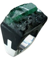Pasionae - Emerald Ring - Lust - Lyst