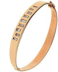 Botta Gioielli Rigid Diamonds Code Bracelet