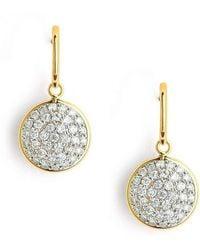 Syna - 18kt Diamond Chakra Earrings - Lyst