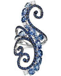 Pinomanna - Ramage Collection Ring - Sapphires - Lyst