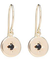 Alexis Kletjian - Lucky Star Black Diamond Dangle Earrings - Lyst