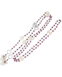 YRYS - Rosary Necklace - Lyst