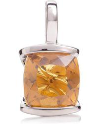 MANJA Jewellery - Juliet Rose Gold Rhodolite Necklace - Lyst