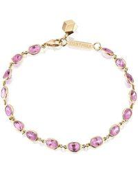 Paolo Costagli New York - Bezel Set Pink Sapphire Ombre Bracelet - Lyst