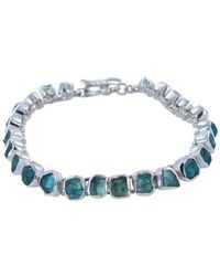 Reeves and Reeves | Rough Stone Apatite Bracelet | Lyst