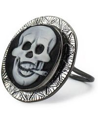 Vintouch Italy - Rocker Cameo Ring - Lyst