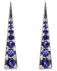 Daou Jewellery - Spark Earrings - Iolite - Lyst