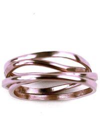 Fran Regan Jewellery Vermeil Cosmic Ring 5 Tier - UK K 1/2 - US 5 3/8 - EU 51 1/4 U2nWsd