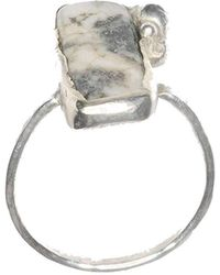Rebecca Pratt Jewellery - Tree Agate Ring - Lyst