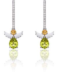 Nicofilimon - Angels Sticks Earrings - Lyst
