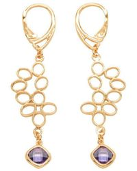 Purnell - Red Gold Nectar Drop Earrings - Lyst