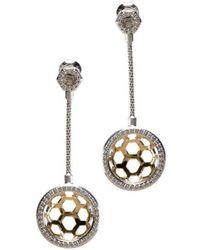 Gia Belloni - Honeycomb Cups Earrings - Lyst