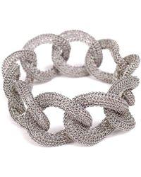 Tove Rygg - Goddess Lake Link Twist Stainless Steel Bracelet - Lyst