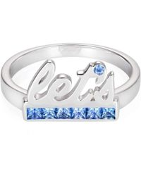 Maria Kovadi Fine Jewellery - Let's Ring With Light Sapphires - Lyst