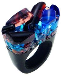 Pasionae - Murano Ring - Delight - Lyst