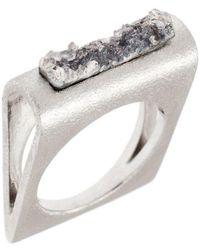 Pasionae - Folded Ring - Lyst