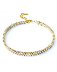 Clare Hynes - Gold Plain Milly Choker - Lyst