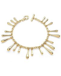 Lucy Quartermaine Cross Open Bangle Gold Plated fUoOWJ