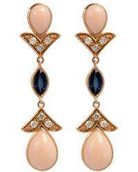 Joana Salazar - The Petite Vintage Earrings - Lyst