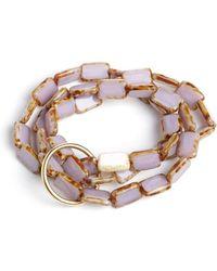 Eva Michele - Lavender Moon Bracelet - Lyst