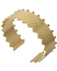 Murkani Jewellery - Revolution Gold Cuff - Lyst