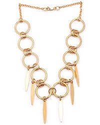Susan Driver - The Light Necklace Gold Plated - Lyst