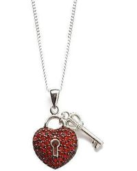 Lily Blanche - Key To My Heart - Red - Lyst