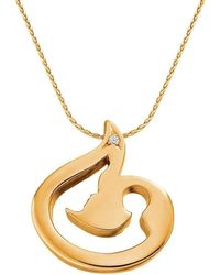 Ayalla Joseph - Unconditional Joy Necklace Yellow Gold Plated - Lyst